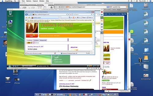 Vista on OS/X