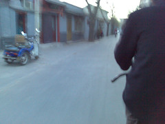 Trishaw ride through the Hutong