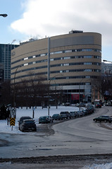 UQAM in Winter (caribb) Tags: city urban canada streets st architecture modern buildings lawrence downtown montral quebec montreal qubec stlaurent uqam laurent streetrue streetst ruestlaurentsaint universitdequbecmontral