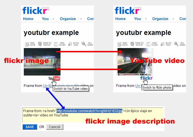 FlickrHack: YouTubr