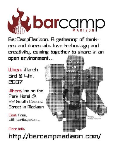 BarCampMadison Flyer #1