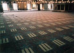 Blue Mosque #6 (T.K. Long) Tags: blue film 35mm turkey scans europe mediterranean pentax islam prayer istanbul mosque bluemosque sultanahmed pentaxzx7 zx7