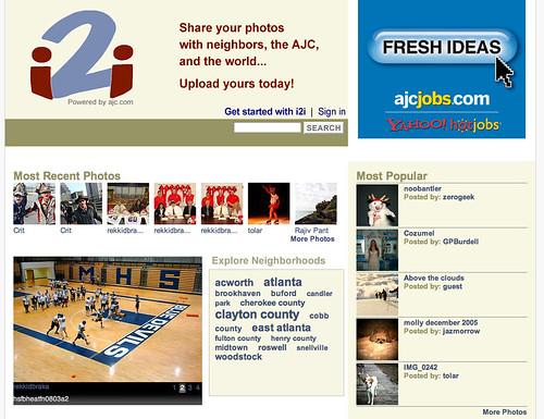 i2i - AJC's New Social Media Aggregation Tool?
