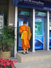 Monk at ATM