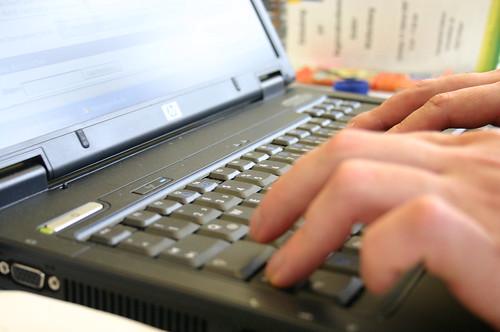 """Bild """"Blogging"""" von tillwe"""