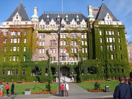 Empress Hotel Victoria , BC