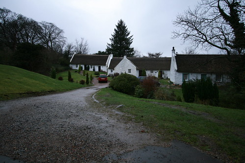Thatched cottages in Swanston Village - Edinburgh