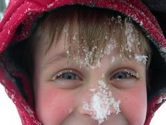 snow eyes (crookedeyebrow) Tags: snow childseyes