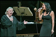 Barbara Cook and Audra McDonald together in a photo I swiped from the newspaper. (01/05/07)