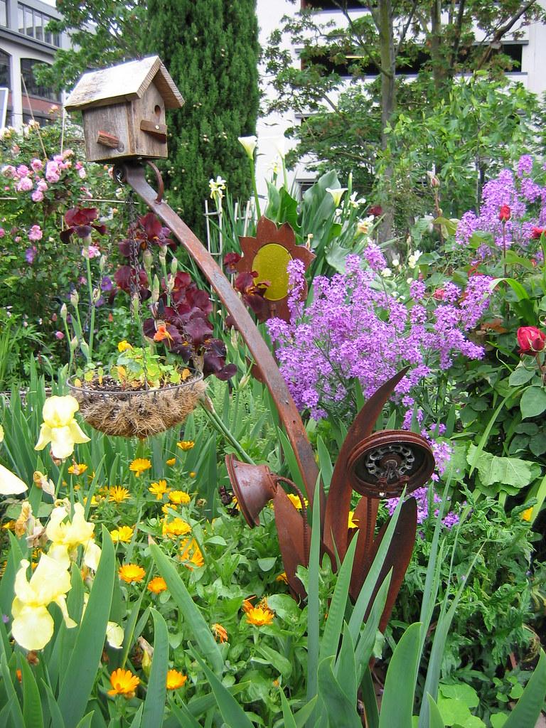 Public Flower Garden in downtown Seattle