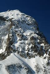 Voie normale de Pic du Midi d'Ossau vu du Pic de Saoubiste