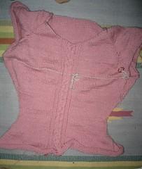 Sweater-in-progress