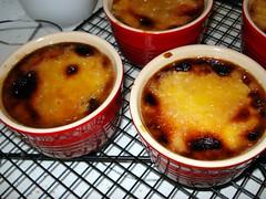 Crème brûlée final product