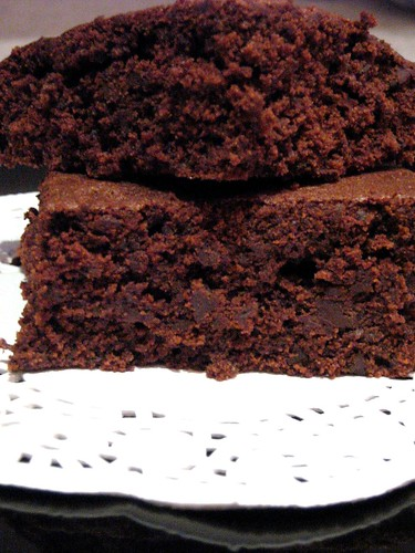 brownie al doppio cioccolato