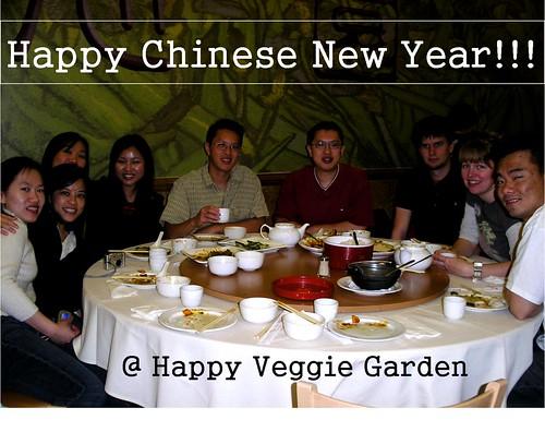 cny @ Happy veggie garden