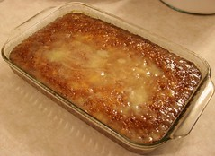 "Pineapple ""Pudding"" Cake"