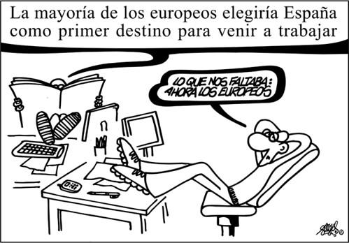 Viñeta publicada por El País (21/02/2007)
