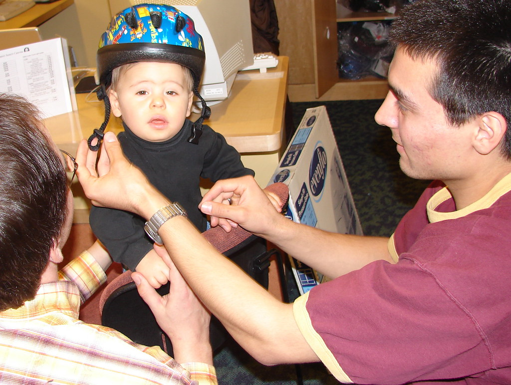 Bike Helmet Fitting