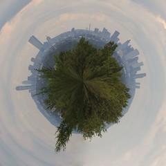 Planet Boston (alohadave) Tags: boston manipulated planet polar bostonist 0sec universalhub
