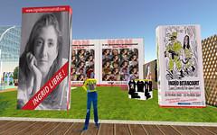 collectif-Ingrid (John Gianni Biziou) Tags: ingrid john libertad sl secondlife liberte nessy otage colombie betancourt collectif giannibiziou nessylupino ingridbetancout