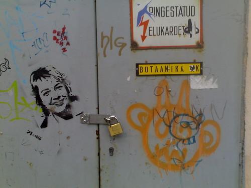 pre-election graffiti