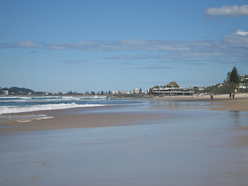 australia gold coast beaches. Currumbin Beach on the Gold