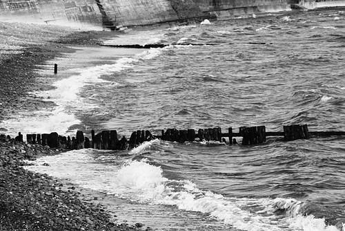 black and white beach photos. Beach, Black and White,