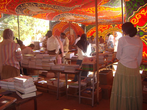 Book distribution in the Sudan