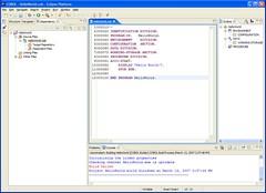 COBOL code in Eclipse editor