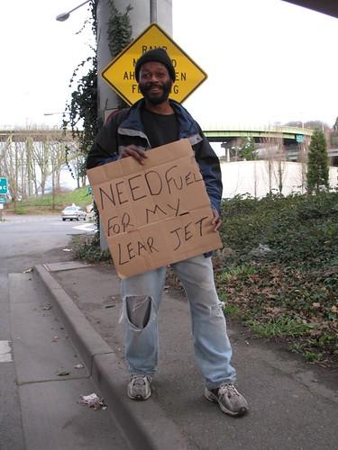 seattle homeless washingtonstate nicejacket bridgedwellers cleverman newworldview