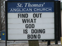 Bono Knows God