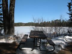 Pog Lake picnic
