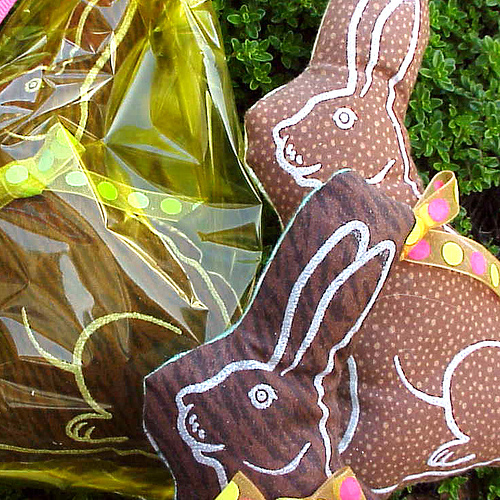 Chocolate Bunnies by Jek in the Box