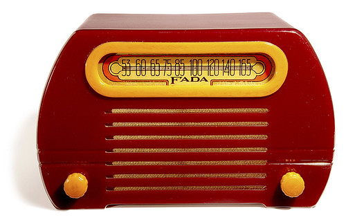 "Fada Radio model 652, ""The Temple"", 1946"