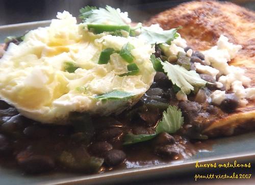 easy recipe huevos motulenos eggs motul style black beans and fried bananas