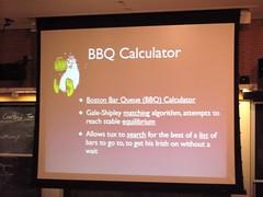 BarCampBoston2 Programming Contest entries: BBQ Calculator