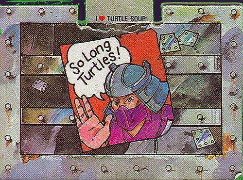 TEENAGE MUTANT NINJA TURTLES :: OOZEY iii // i ♥ TURTLE SOUP  (( 1990 ))