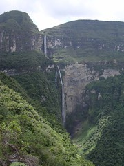 Catarata de Gocta, highest waterfall of the world Peru South America