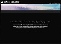 DESKTOPOGRAPHY