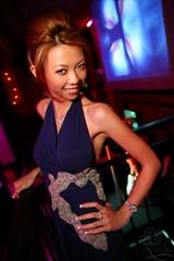 strike a pose. (Liz Lieu) Tags: liz vip nightlife robertocavalli lieu lizlieu pokerdiva specialappearanceatvividnightclub propokerplayer