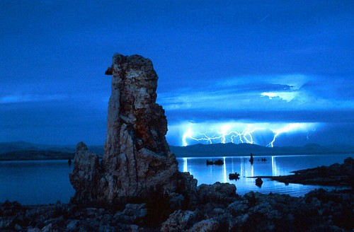 Lightening Storm, Mono Lake