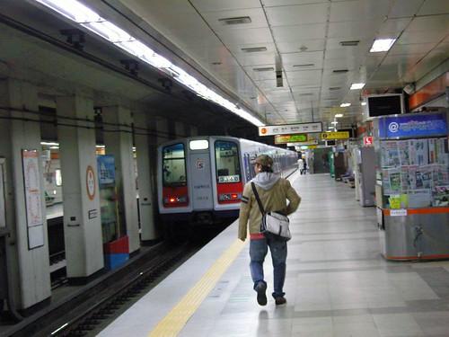 지하철 3호선 8번객차 #34