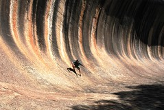 Wave Rock Ape (beeater) Tags: wa westernaustralia waverock pretenders aussieicons ancientrockformations drysurfing surfingwithoutaboard