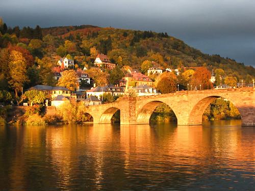 Alte Brücke Heidelberg por maegges.