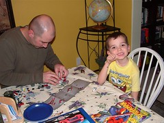 Building a starship with Daddy
