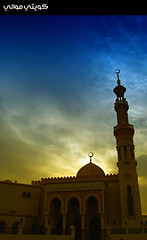 Imam ِAl-Hassan Mosque (Hussain Shah.) Tags: d50 nikon dubai uae sigma mosque kuwaiti الإمارات barsha دبي 24105mm aplusphoto kuwaitimuwali muwali كويتيموالي imamalhassanmosque مسجدالإمامالحسن البرشاء سيلويت