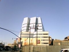 Gehry IAC Building in New York City - daytime
