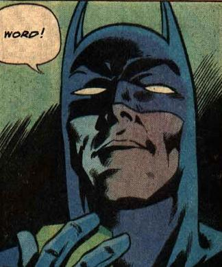 Bat-word!