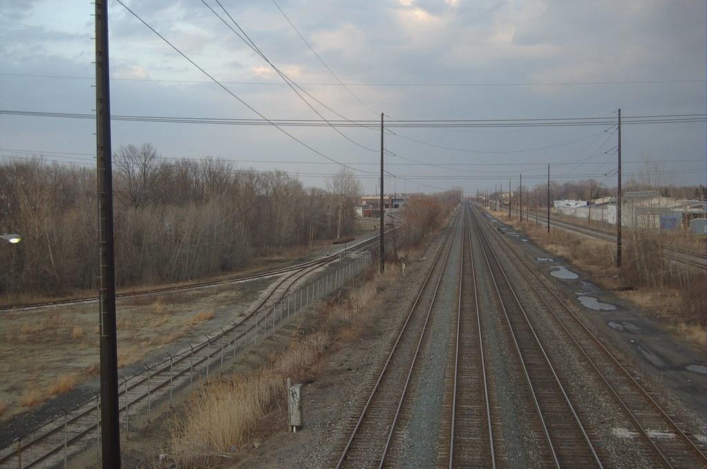 Railroad Tracks - East