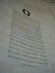 Jefferson Memorial - Religious Freedom
